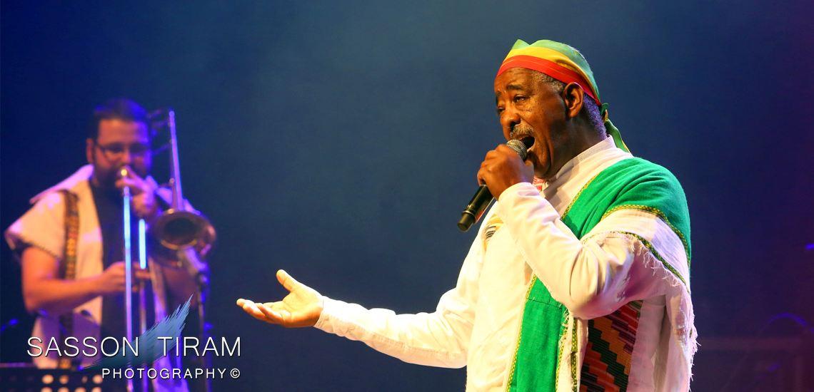 Ethiopian singer Ahmed Mahmood
