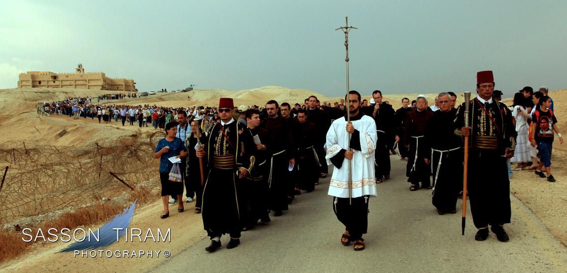Baptismal site on the jordan river qasr al yahud