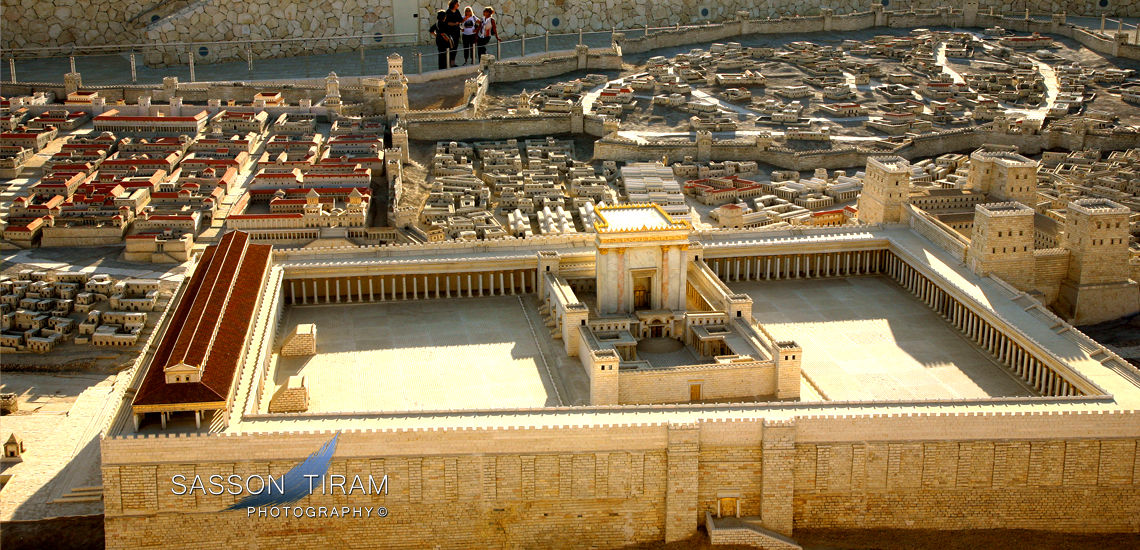 Model of Jerusalem and the Temple in the second Temple period at the Israel Museum